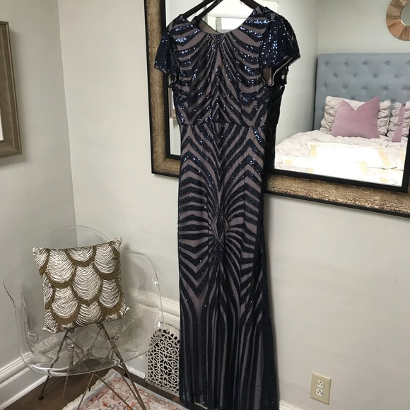 Nordstrom Dresses Donna Morgan Dress Black Tie Poshmark